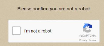 Not a robot?!?
